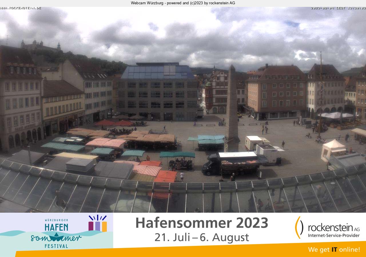 Würzburg City Center, Marketplace